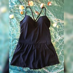 3ae1bec132522 SHAPE FX SWIM ONE PIECE BATHING SUIT SZ 14 NWOT